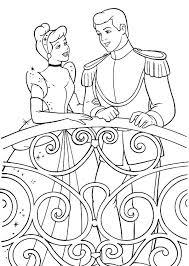 cinderella talking prince charming cinderella coloring