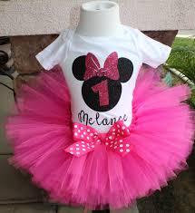 pink and black minnie mouse tutu set pink tutu personalized