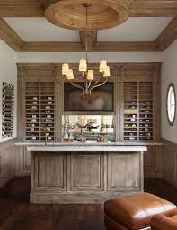Media Room Built In Cabinets - built in bar with flatscreen tv niche contemporary media room