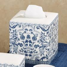 Toile Rugs Orsay Blue Toile Porcelain Bath Accessories