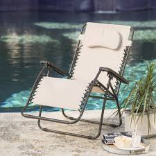 Zero Gravity Lounge Chair With Sunshade Caravan Sports Oversized Zero Gravity Recliner Hayneedle