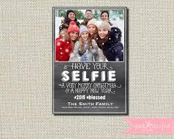 christmas card holiday card selfie christmas card
