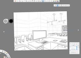 How To Get Floor Plans How To Draw With Two Point Perspective Making Beautiful Interiors
