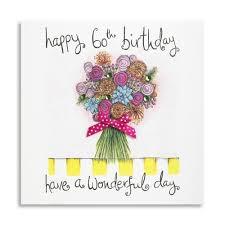 birthday cards for 60 year 60 wonderful day handmade 60th birthday card 3 99 a great
