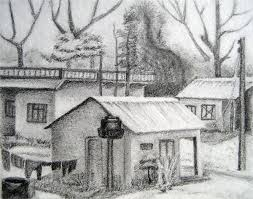 easy pencil drawings of landscapes gallery for simple pencil