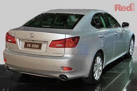 fuel consumption lexus is250 lexus is250