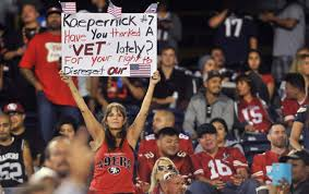 Anti 49ers Meme - colin kaepernick s protest has nothing to do with the military the