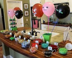 minecraft party minecraft birthday party jonesing2create