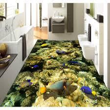 3d Bathroom Floors by Aliexpress Com Buy 3d Pvc Flooring Custom Wall Sticker The