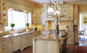 Blue Kitchen Decorating Ideas Kitchen Style Country All White Kitchen Decorating Idea From