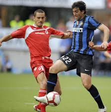 leonardo bonucci clarence seedorf and andrea pirlo among players leonardo bonucci in action for bari against inter milan shortly after leaving club