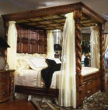 Emperor Size Bed Four Poster Bed Ebay