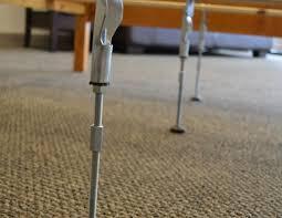 Adjustable Center Leg Bed Frame Support Bed Leg Support For Bed Frame
