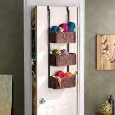 Hanging Baskets For Bathroom Storage Bathroom Black Painted Hanging Bathroom Storage Basket Ideas