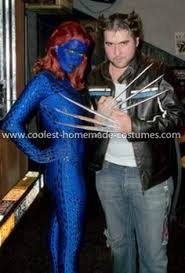 Mystique Halloween Costume Magical Mystique Costume Couples Costume Ideas