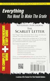 the scarlet letter dover thrift study edition nathaniel