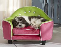 small pet beds pink and green pet sofa super cute pet bed for your small dog or