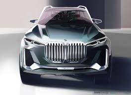 bmw x7 iperformance concept sketch industrial design pinterest