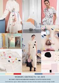 trendsenses moodboard modern abstracts spring summer 2018