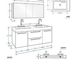Double Vanity Size Standard Kraftmaid Bathroom Cabinets Sizes Home Design Ideas Collins