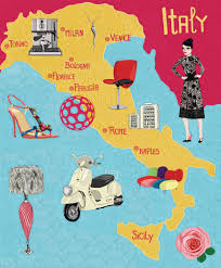 Map Of Naples Italy by Map Italy Illustrationitaly Map Https Www Etsy Com Ca Listing