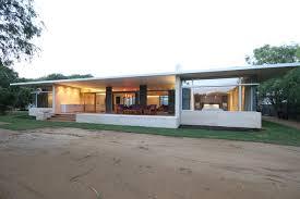 modern single story house houzz