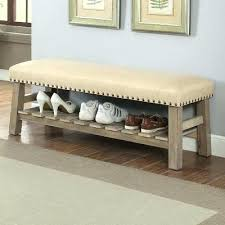 Padded Storage Bench Fabric Bedroom Storage Bench Ottoman Bedroom Storage Build Padded