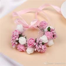 bridesmaid corsage 2018 bridal wrist corsage wedding flower bridesmaid