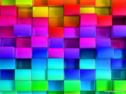 3d rainbow powerpoint template hd slide backgrounds