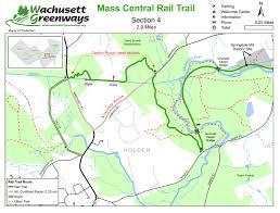 new england central railroad map rail trails in massachusetts masstrails com