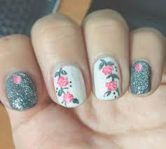 7 days of floral nail art tutorials day 1 the lily set in lacquer