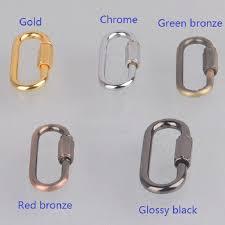 online shop 4pcs lot 5mm d shape buckle carabiner survial key