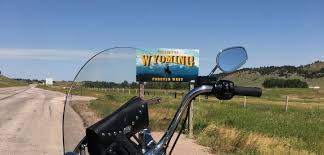 South Dakota travel mirror images Border to border by motorcycle stacy bettison crosses south jpg