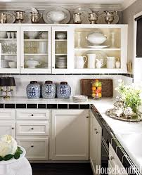 decorating kitchen how to decorate above kitchen cabinets for china cabinet