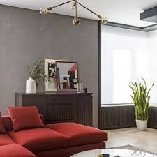 interior design on wall at home residential interior design dezeen