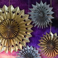 New Year Decorations Diy by Easy Diy Star Burst Wall Art Lia Griffith