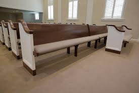 furniture refinishing for pews chairs courtroom benches u0026 pulpits
