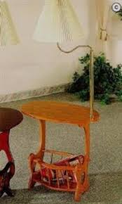 Side Table With Built In Lamp Table With Attached Lamp End Table With Build In Floor Lamp