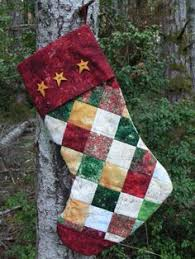 quilted christmas stockings by from pixels to patchwork includes