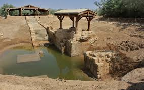 baptism pools archaeology and jesus baptism beyond the