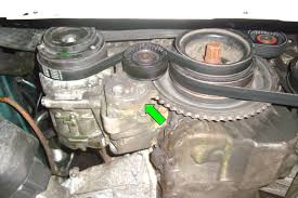 bmw e39 5 series tensioner and pulleys removal 1997 2003 525i