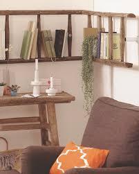 Diy Ladder Shelf Shelves Tutorials by Diy 24 Easy Ways To Reuse An Old Ladder At Home World Inside