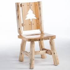 cedar lake log dining tables and cedar dining room furniture