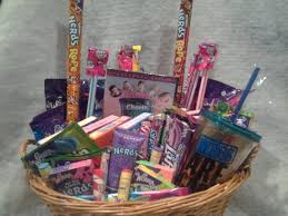 candy gift baskets willy wonka candy gift basket
