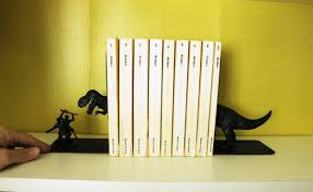 eclectic fallos ring holder images How to declutter a bookshelf without losing its personality jpg