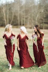 Wine Colored Bridesmaid Dresses Best 25 Wine Colored Dresses Ideas Only On Pinterest Wine