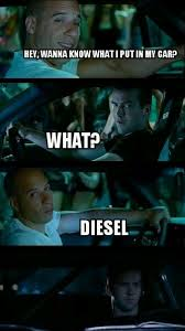 Diesel Memes - 18 vin diesel memes that only fans will find funny sayingimages com