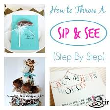 how to ideas welcome baby 14 sweet ideas for a sip see cafemom