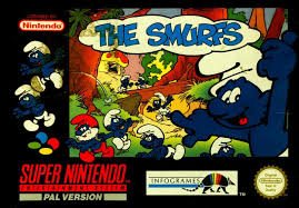 smurfs snes 1994 mobygames
