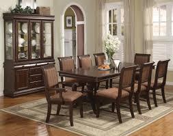 9 dining room set merlot 9 formal dining room furniture set pedestal table 8